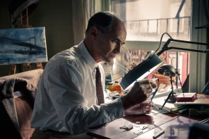 Mark Rylance plays Rudolf Abel, a Soviet spy arrested in the U.S. in the dramatic thriller BRIDGE OF SPIES, directed by Steven Spielberg.
